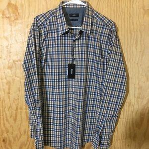 Hugo Boss Mens Check Shirt.